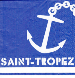Saint Tropez, cocktail servet