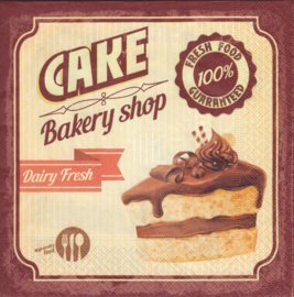 Chocolate Cake, servet