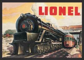 Wandbord metaal Lionel Train