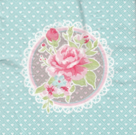 Romantic rose, servet