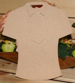 MDF t-shirt met stropdas