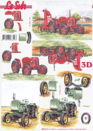 Tractor, 3D Knipvel Le Suh