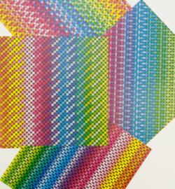 Origami Paper, Rainbow