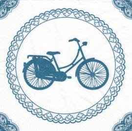 Opoe fiets, servet