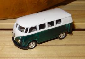Volkswagenbusje Classic mini, groen