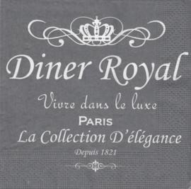 Diner Royal, servet