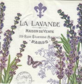 La Lavande, servet