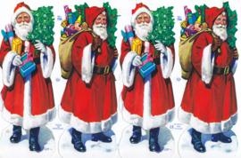 Kerstman, poëzieplaatje Mamelok