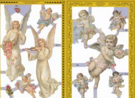Engelen, poëzieplaatje Golden serie