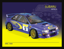 Wandbord metaal Ford Subaru