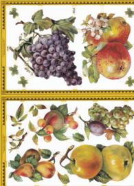 Fruit, poëzieplaatje Golden serie