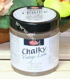 Chalky Vintage Look, Taupe