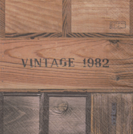 Vintage 1982,servet