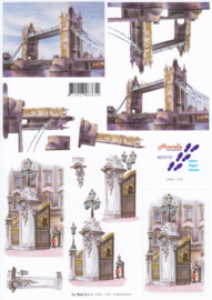 Tower Bridge, 3D Knipvel Le Suh