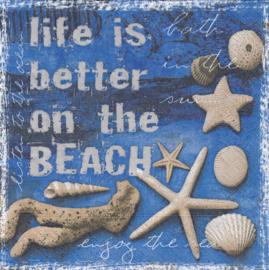 Life is Better, servet