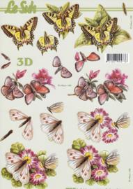 Vlinders, 3D Knipvel Le Suh