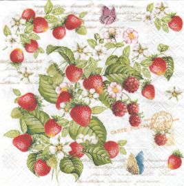 Romatic strawberry, servet