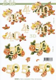 Jubileum 40 & 50 jaar, 3D Knipvel Le Suh