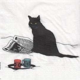 Black Cat Journal, servet