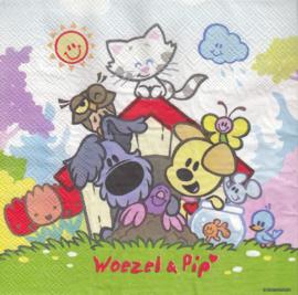 Woezel & Pip, servet