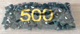 Vierkante Diamond steentjes 500 t/m 598