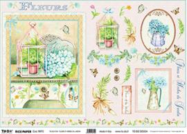 Fleurs Et Herbes Du, To-Do Rice Paper