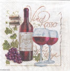 Vino Rosso, cocktail servet