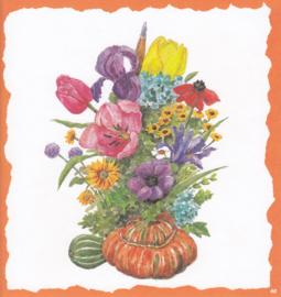 Boeket bloemen, Decorvloei