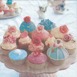 Cupcake, servet
