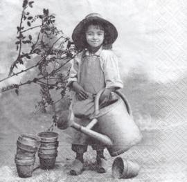 Garden Girl, servet