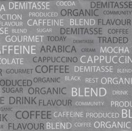 Coffee Tekst, servet