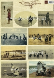 Vintage Beach nr. 1, Tiny's A4 knipvel
