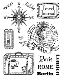 Paris-Rome-Berlin, Clear stamp