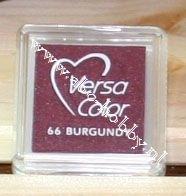 Burgundy, stempel inkt