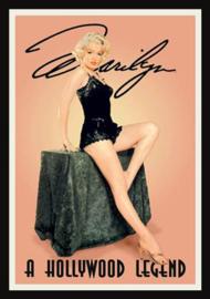 Wandbord metaal Marilyn Monroe