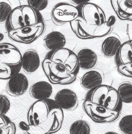 Mickey Mouse, servet