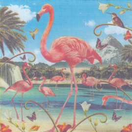 Flamingo, XL servet