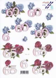 Jubileum 60 & 65 jaar, 3D Knipvel Le Suh
