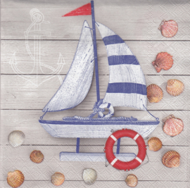 Ship and Shells, servet