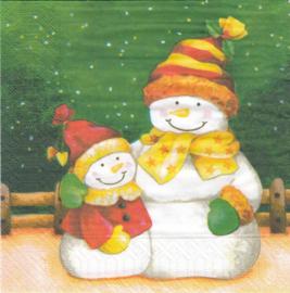 Sneeuwpoppen, servet