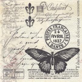 Butterfly mail, servet