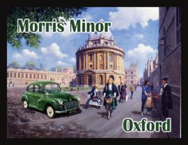 Wandbord metaal Morris Minor Oxford