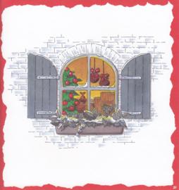Kerst venster, Decorvloei