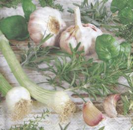 Herbs & Onion, servet