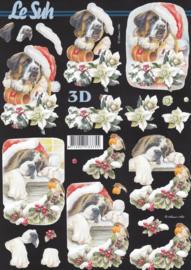 Kersthond, 3D knipvel Le Suh