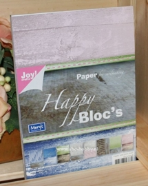 Papier blok, Wood