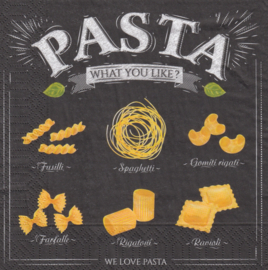 We Love Pasta, servet
