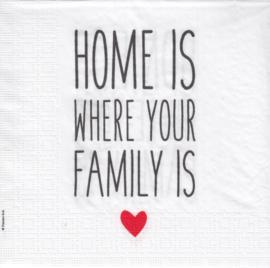 Your Family, servet