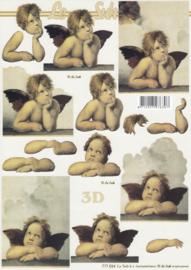Engelen, 3D Knipvel Le Suh