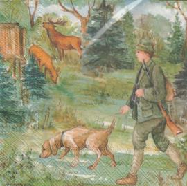 Hunter, servet